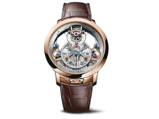 Часы Arnold & Son Time Pyramid Tourbillon