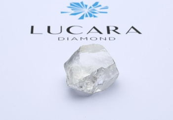 Компания Lucara Diamond добыла алмаз весом 549 карат