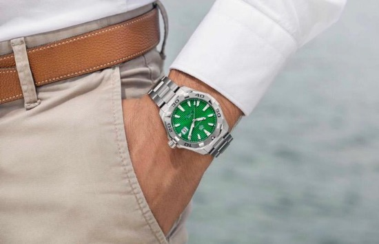TAG Heuer green